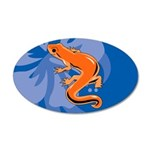 Newt 35x21 Oval Wall Decal