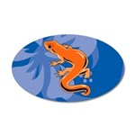 Newt 20x12 Oval Wall Decal