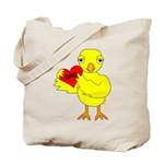 Dad Heart Chick Tote Bag