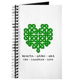 Celtic Heart (Green) Journal