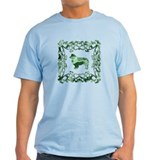 Australian Shepherd Dog Lattice T-Shirt