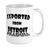 Exported From Detroit Mug