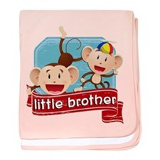 Little Brother Monkey baby blanket