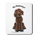 Chocolate Labradoodle Mousepad