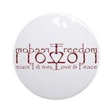 11022011 (by Deleriyes) Ornament (Round)