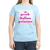 Greek Italian Princess (pink) Women's Pink T-Shirt