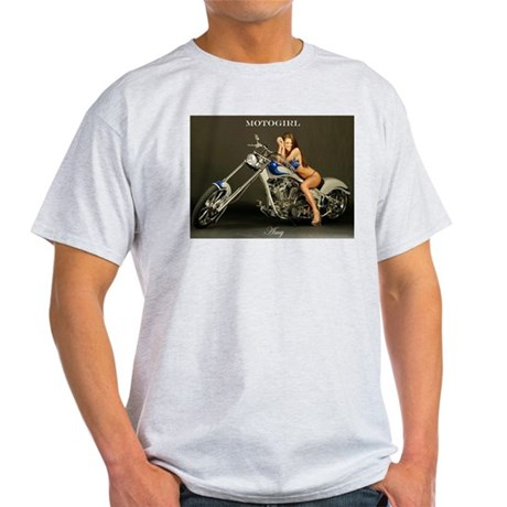 "MotoGirl ""Amy"" Light T-Shirt"