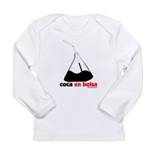 Coca en bolsa Long Sleeve Infant T-Shirt