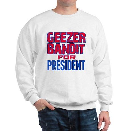 Geezer Bandit For President Jumper