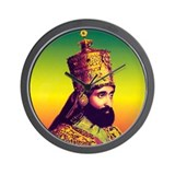 Ras Tafari Wall Clock