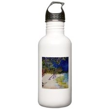 Peaceful Beach Meditation Water Bottle
