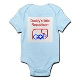 Daddy's Little Republican Infant Creeper