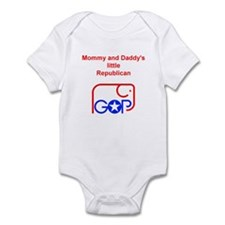 Mommy and Daddy's Little Repu Infant Creeper