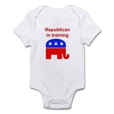 Republican in Training Infant Creeper