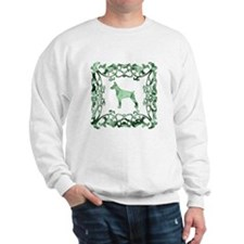 Doberman Pinscher Lattice Sweatshirt