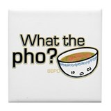 What the Pho Tile Coaster