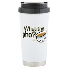 What the Pho Ceramic Travel Mug