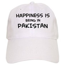 Happiness is Pakistan Baseball Cap