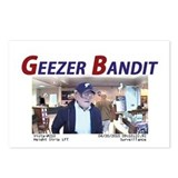 Geezer Bandit Postcards (Package of 8)