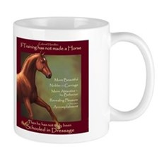 Dressage Quotation Coffee Mug