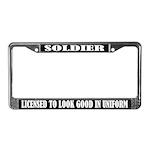 Soldier License Frame