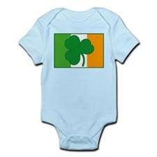 Shamrock Ireland Flag Infant Bodysuit