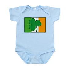 Shamrock Ireland Flag Onesie