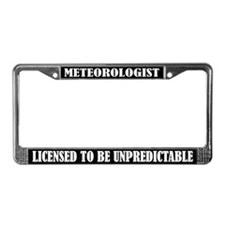 Meterologist License Frame