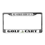 Funny Golf License Frame