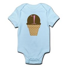 Ice Cream 1st Birthday Infant Bodysuit