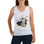 Duck Quartet Women's Tank Top