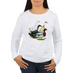 Duck Quartet Women's Long Sleeve T-Shirt