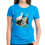 Duck Quartet Women's Dark T-Shirt