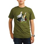 Duck Quartet Organic Men's T-Shirt (dark)