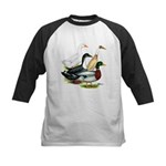 Duck Quartet Kids Baseball Jersey