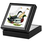 Duck Quartet Keepsake Box