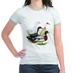 Duck Quartet Jr. Ringer T-Shirt
