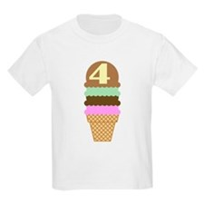 Cute 4th Birthday T-Shirt