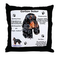 Gordon 1 Throw Pillow