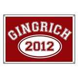 Gingrich 2012 Banner