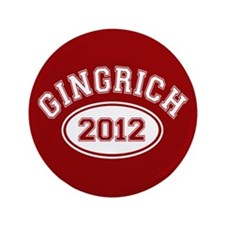 "Gingrich 2012 3.5"" Button (100 pack)"