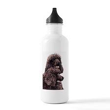 Irish Water Spaniel Water Bottle