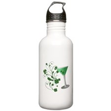 St. Patrick's Day Martini Water Bottle