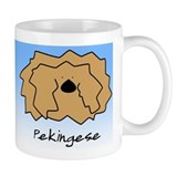 Cartoon Pekingese Mug