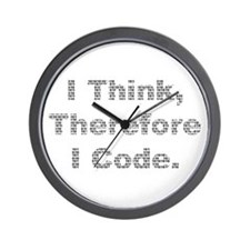 """Think --> Code"" Wall Clock"