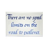 Road to Excellence Rectangle Magnet (10 pack)