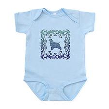 Cocker Spaniel Lattice Infant Bodysuit