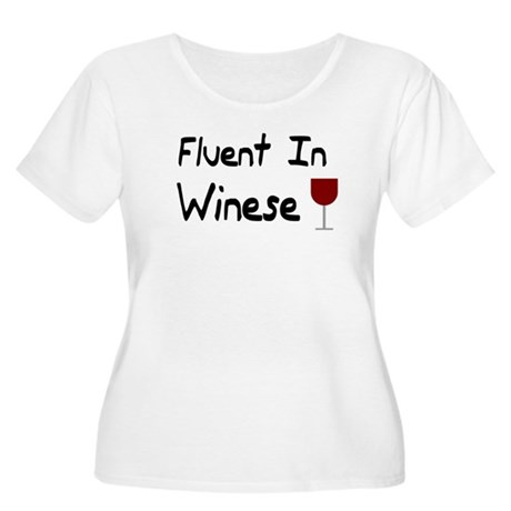 I Speak Winese Wine Lover Shi Women's Plus Size Sc