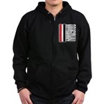 Original Automobile RWB Zip Hoodie (dark)