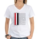 Original Automobile RWB Women's V-Neck T-Shirt